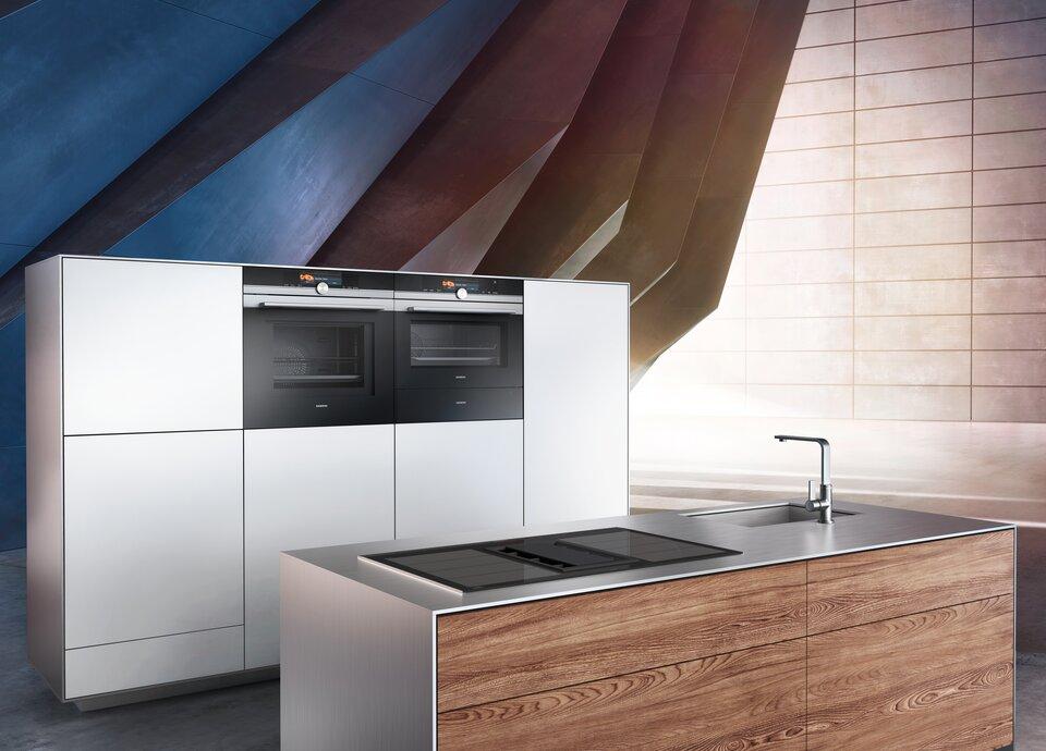 Siemens Kühlschrank Hersteller : Elektrogeräte von siemens für küchen von küche co küche co