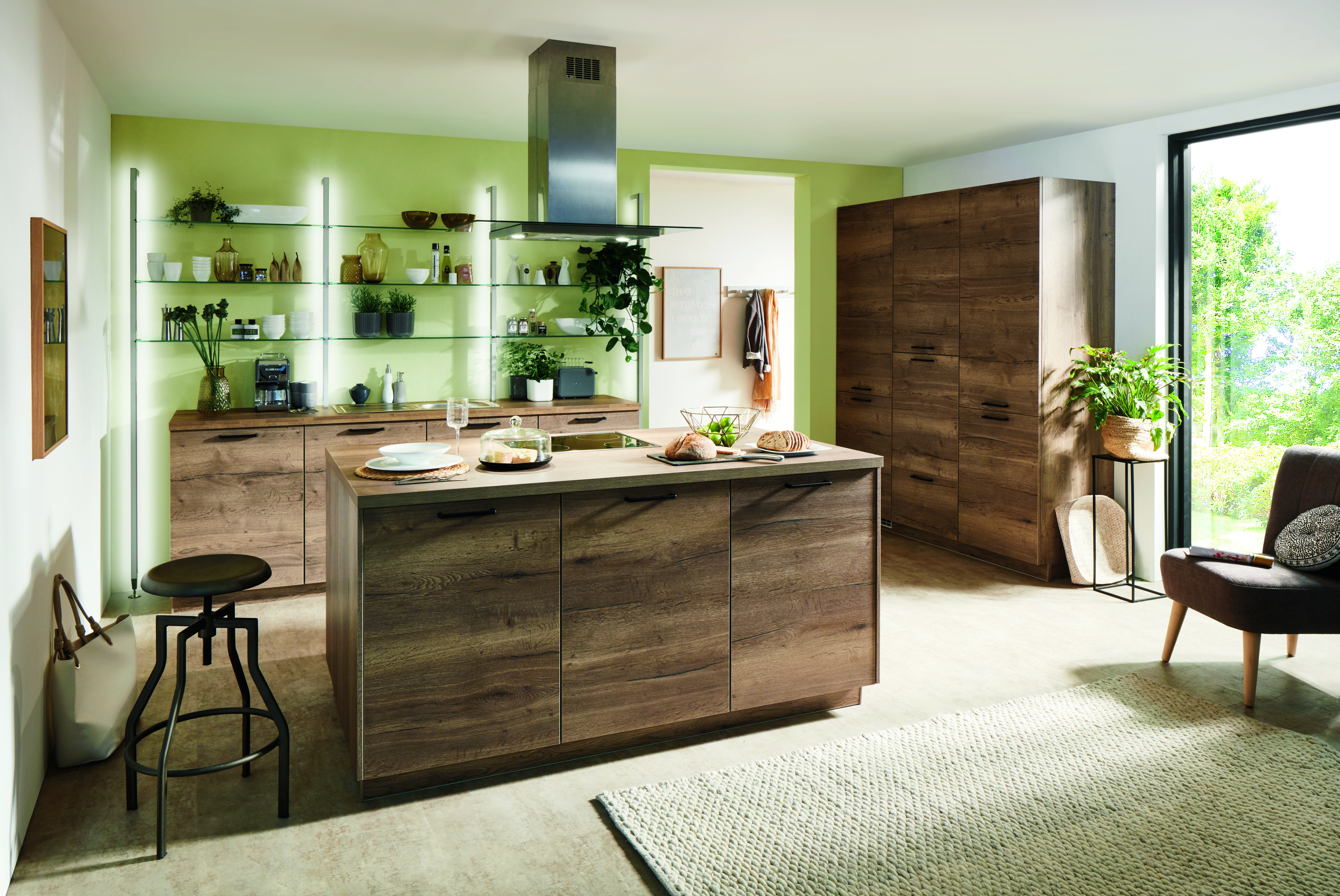 Merveilleux Die Verarbeitung Von Holz Entstammt Dem Skandinavischem Einrichtungsstil:  Hier Werden Küchen Schon Seit Vielen Jahren ...