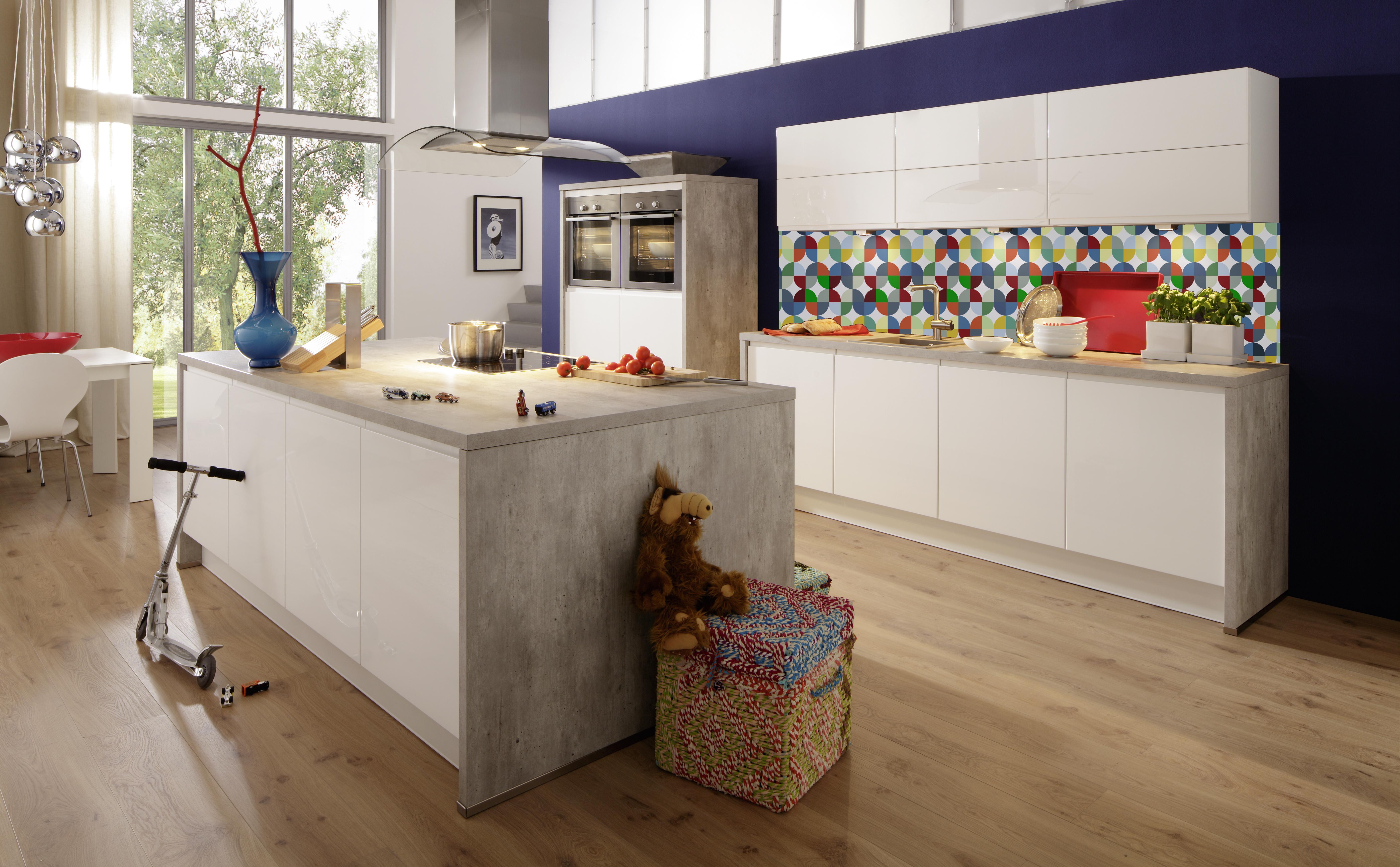 küchentrend geometric look - einrichten mit grafischen und