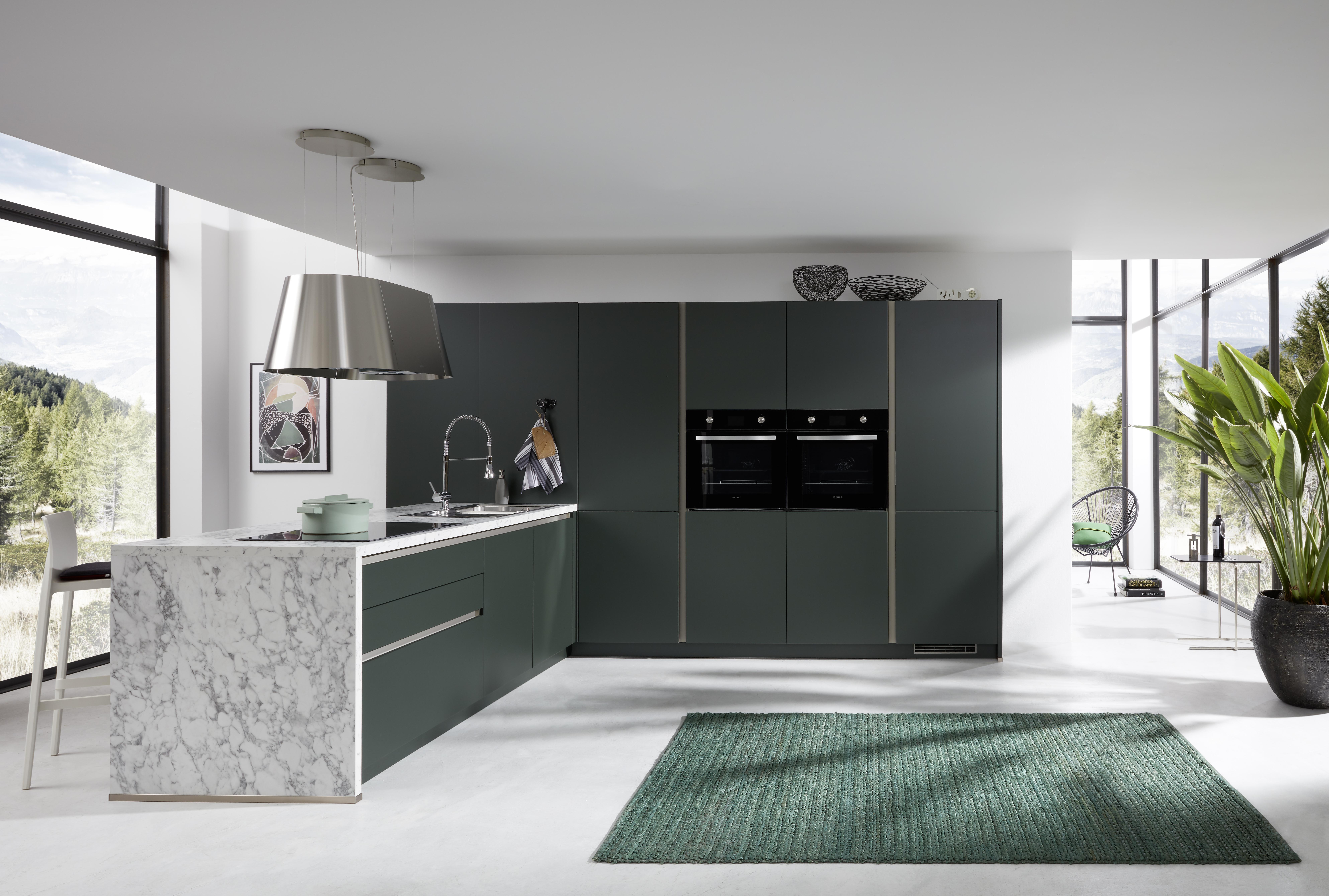 Grüne Küchen - Küchentrends in Grün - Küche&Co