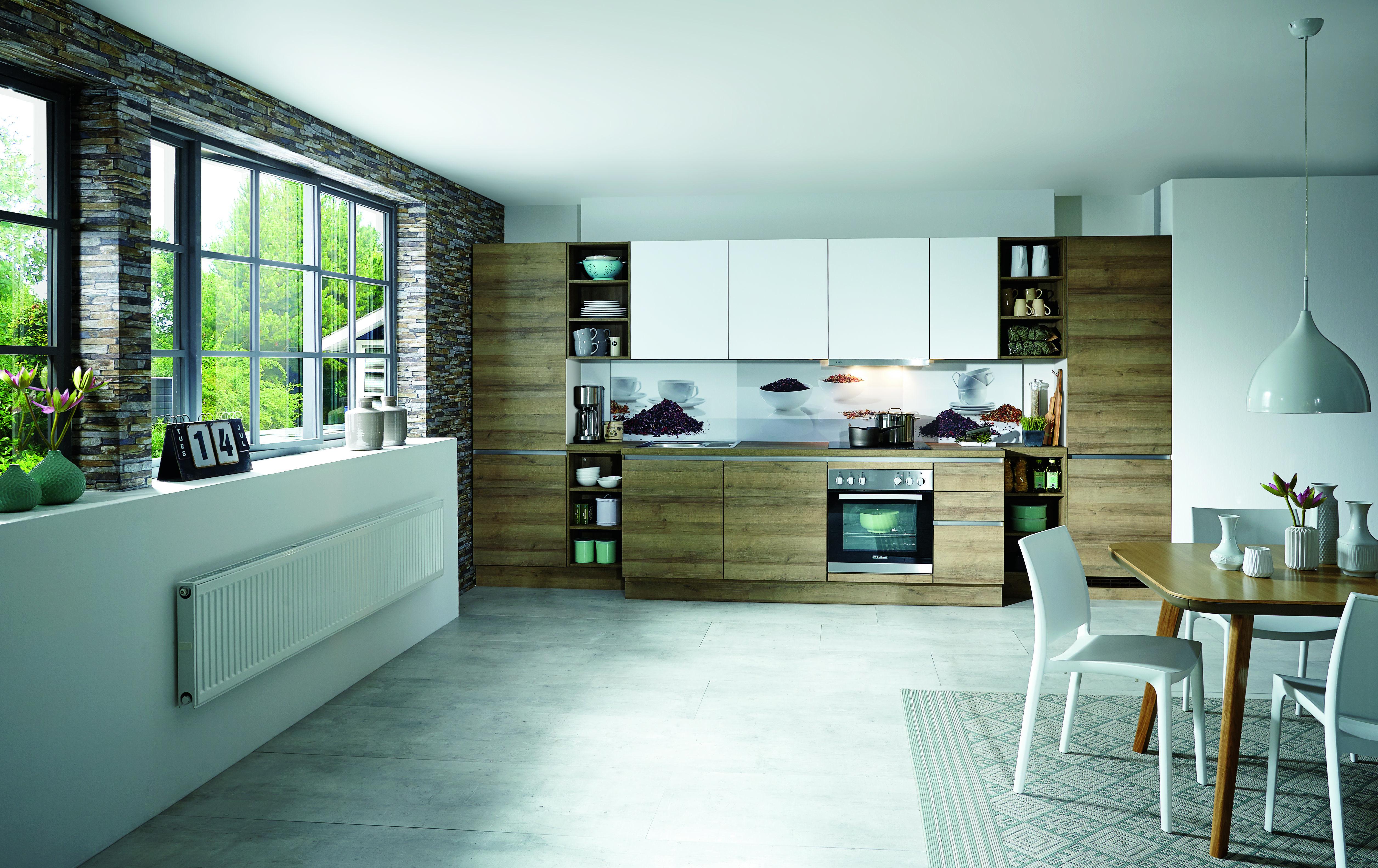 Holzdekor Küchen - Küchentrends in Holzfarben - Küche&Co