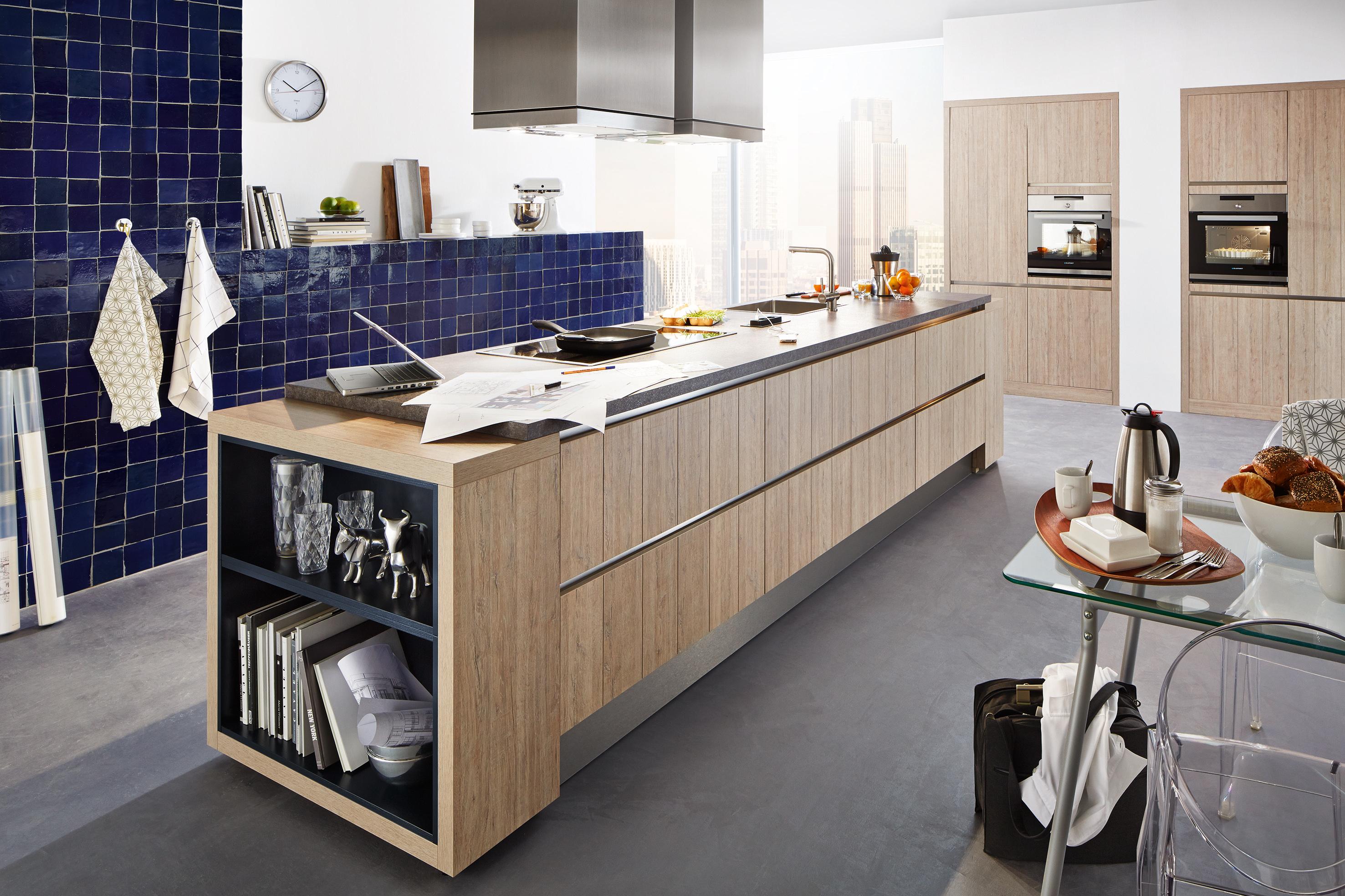 Holzdekor Küchen Küchentrends In Holzfarben Kücheco