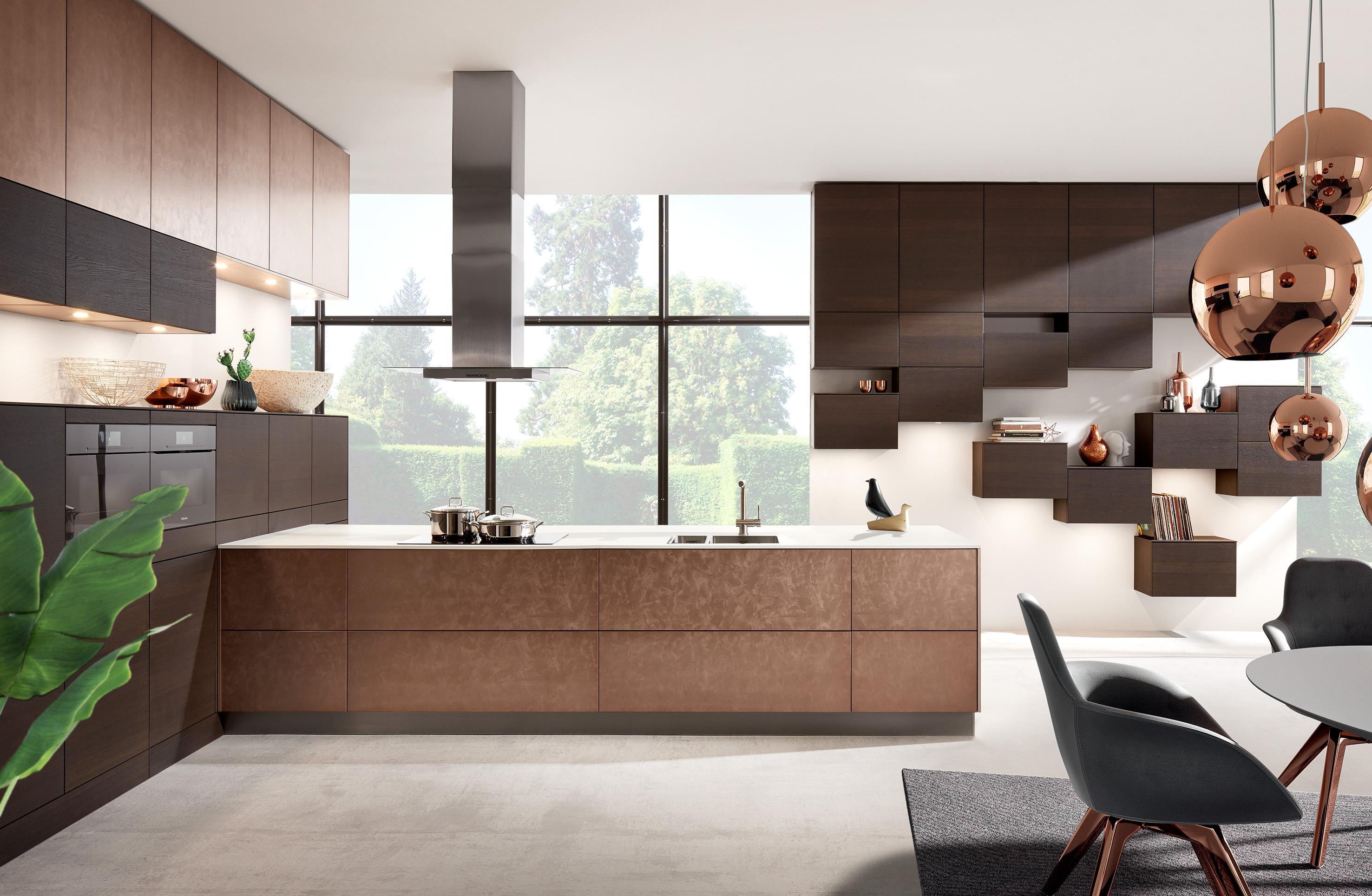Gorenje Kühlschrank Kupfer : Küchentrend kupfer küchen in kupfer küche co