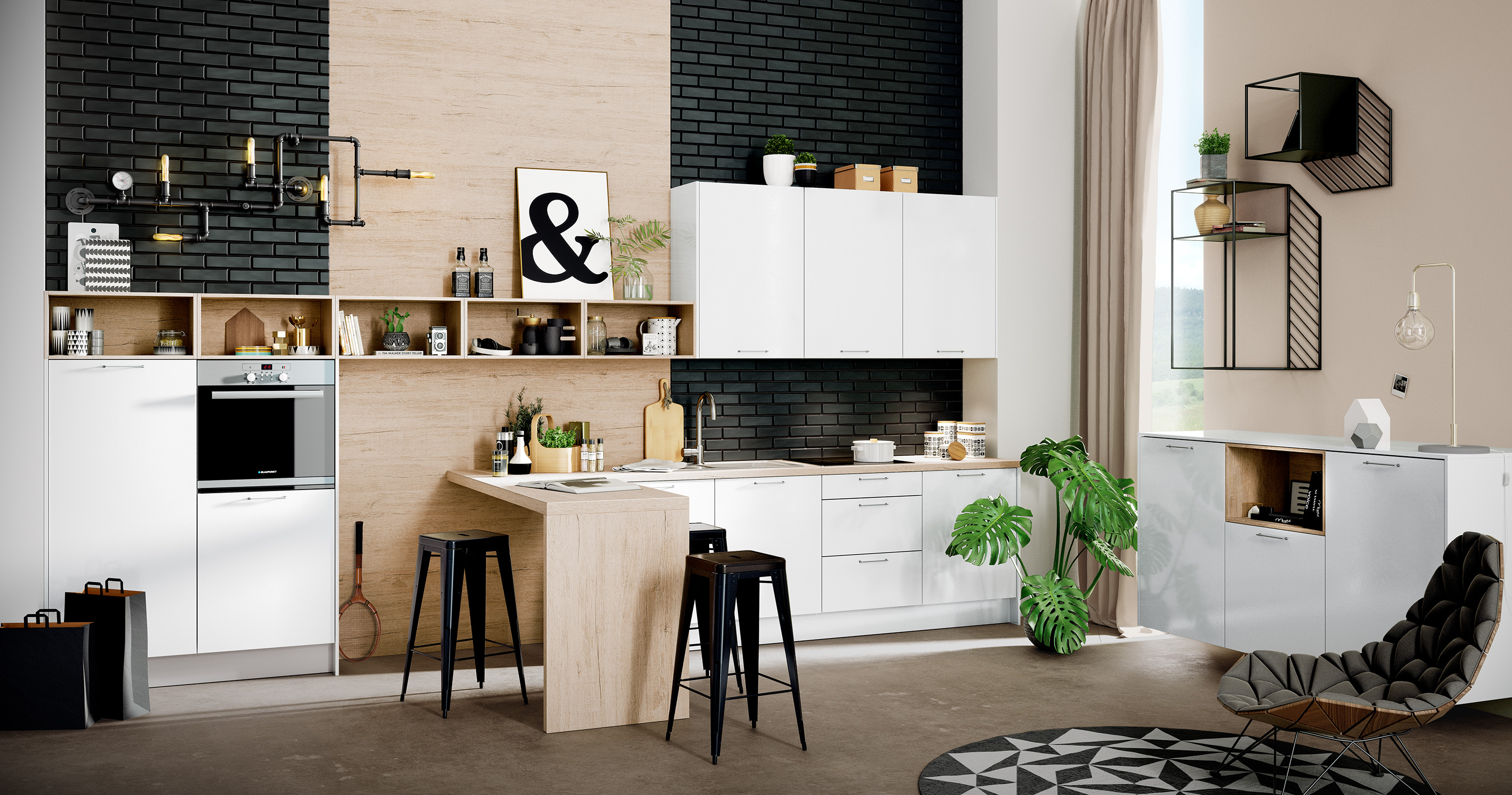 Küchenrückwände - Highlights für die Nische - Küche&Co