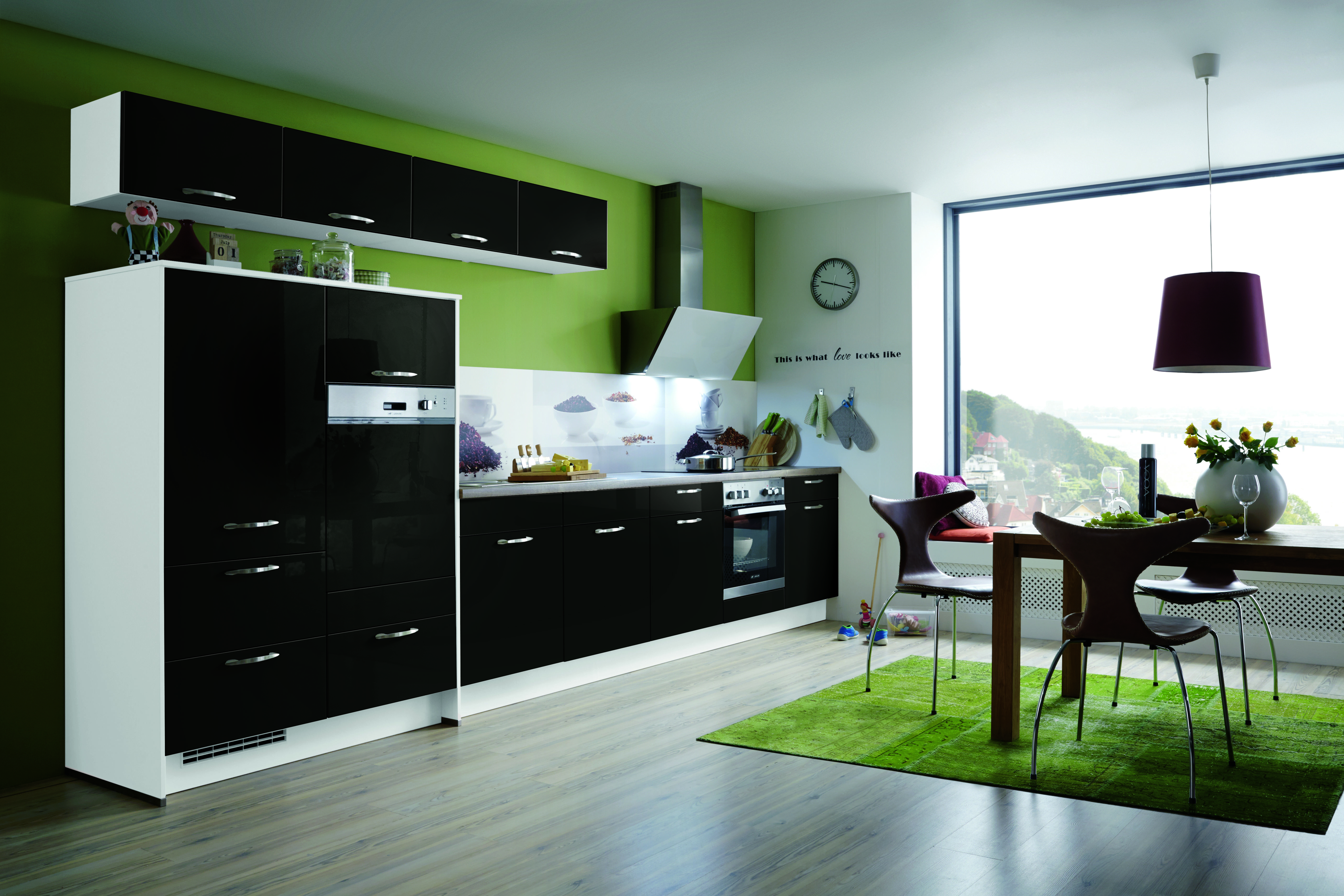 Schwarze Küchen Küchentrends In Schwarz Kücheco