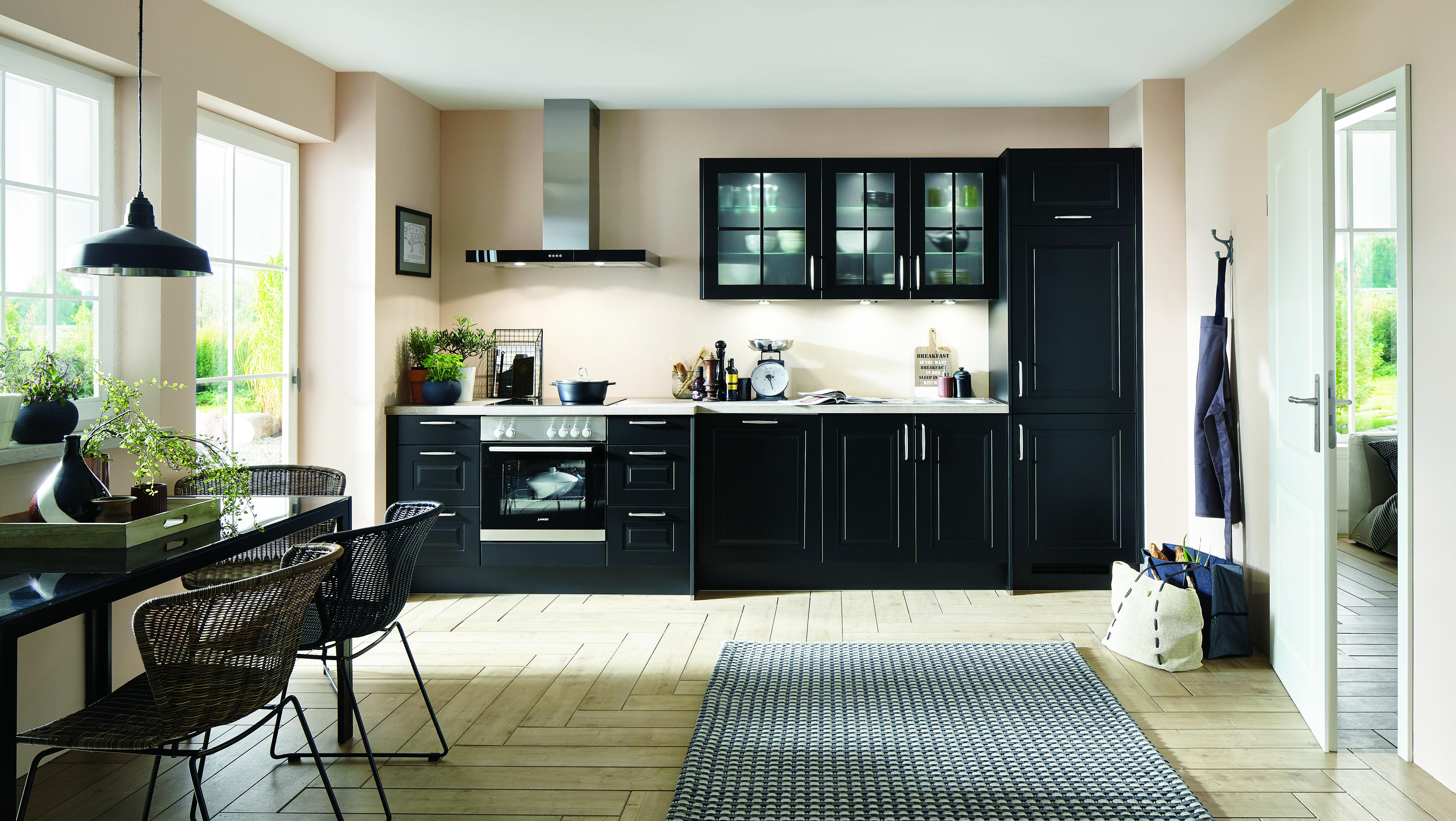 Schwarze Küchen - Küchentrends in Schwarz - Küche&Co