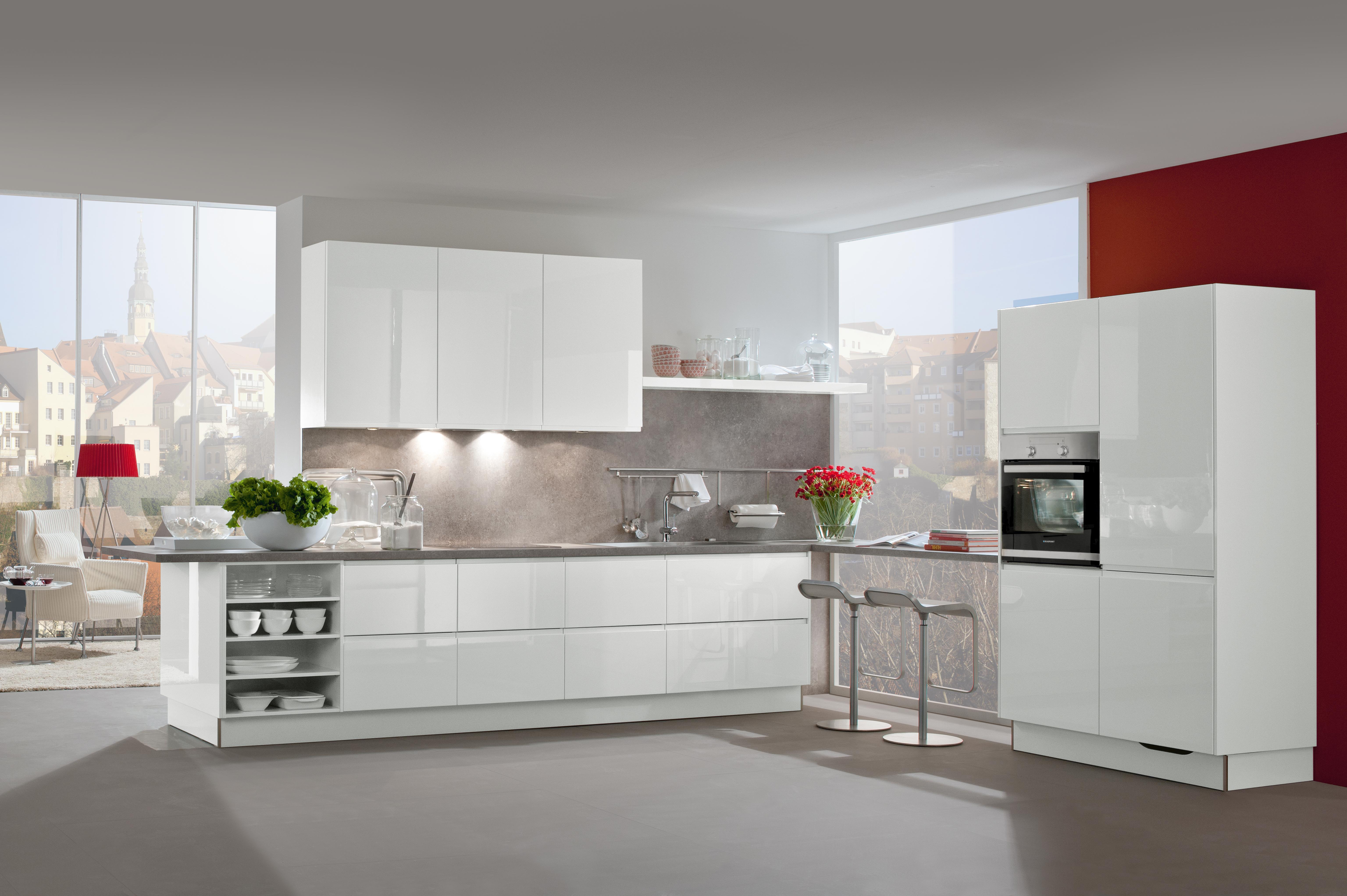 kuchen ideen weisse rustikale kuche, weiße küchen - küchentrends in weiß - küche&co, Kuchen