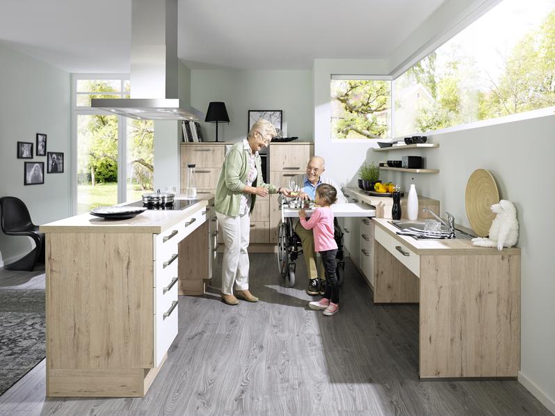 Barrierefreie Küchen planen - Küche&Co