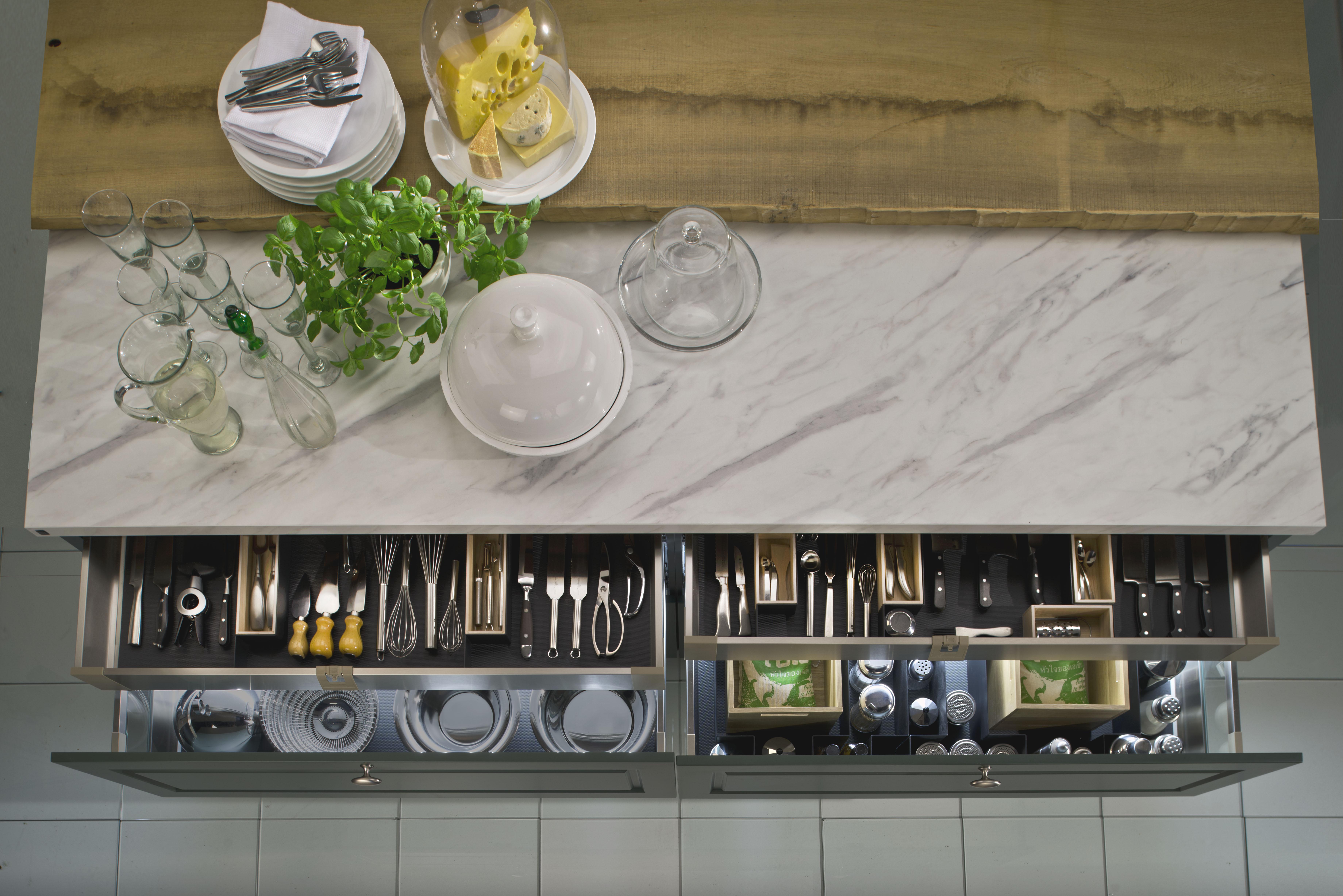 Clevere Ausstattung Fur Eine Perfekt Organisierte Kuche Kuche Co
