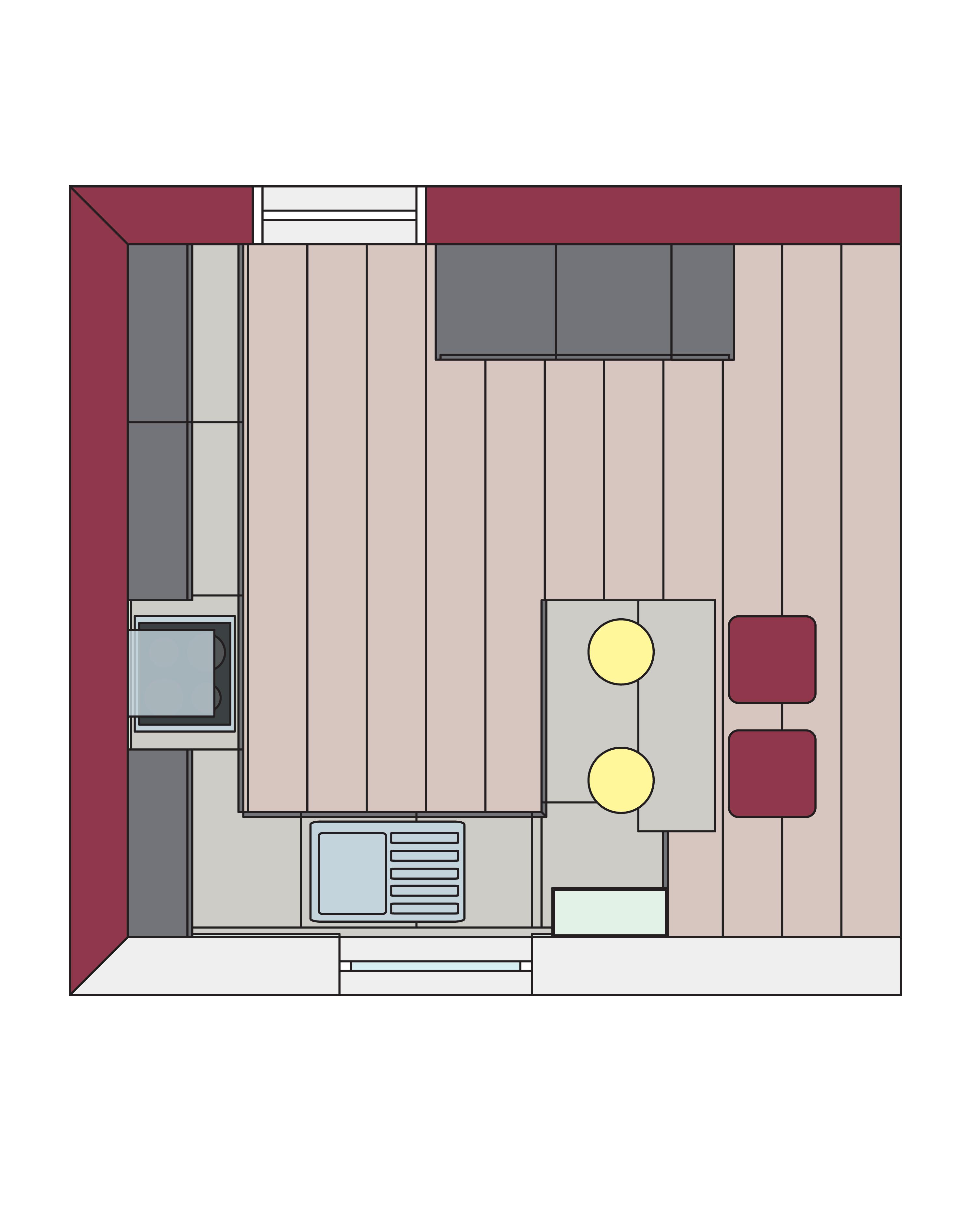 Eine Küche, ein Grundriss, Fünf mal anders - Küche&Co