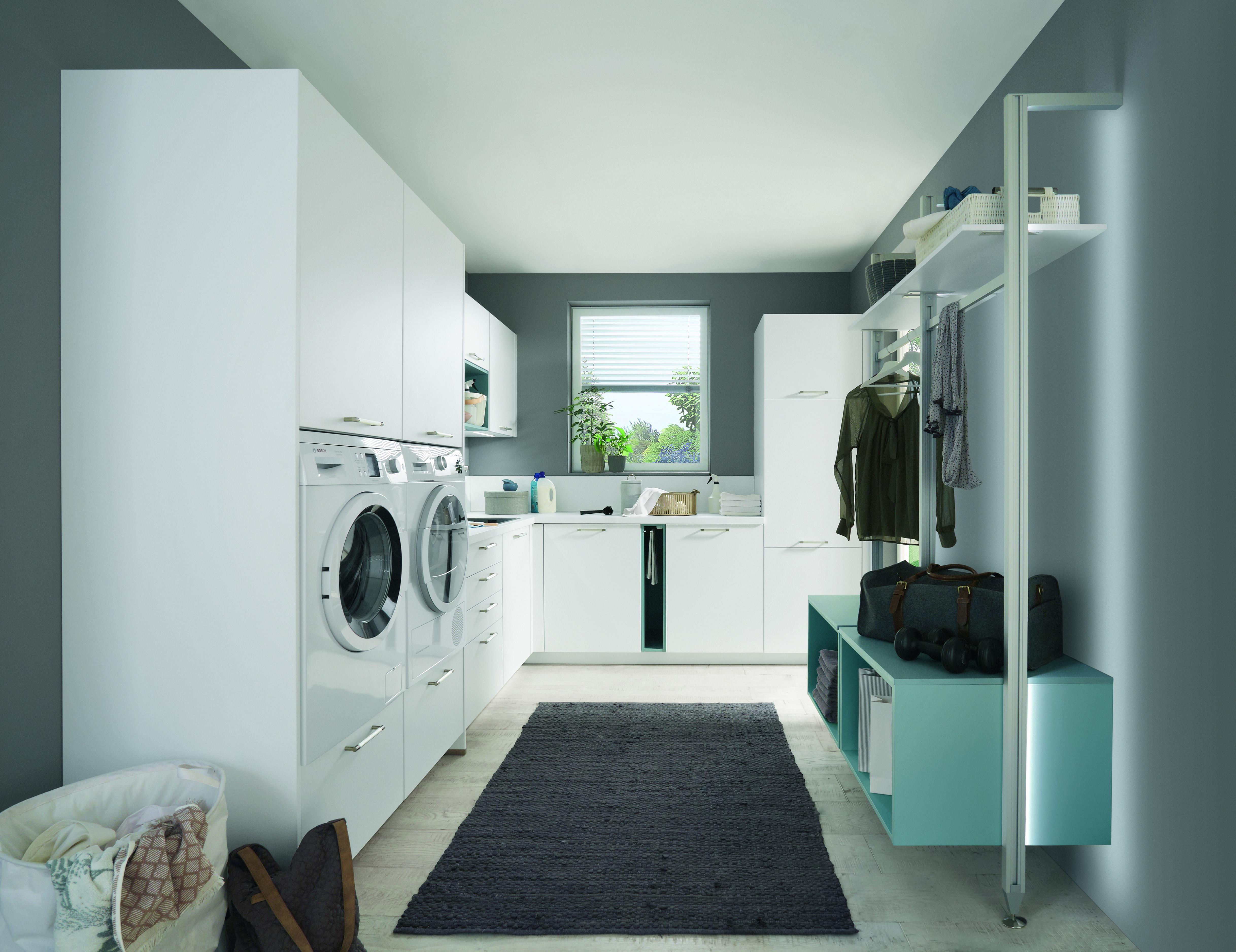 einen hauswirtschaftsraum planen und praktisch einrichten k che co. Black Bedroom Furniture Sets. Home Design Ideas