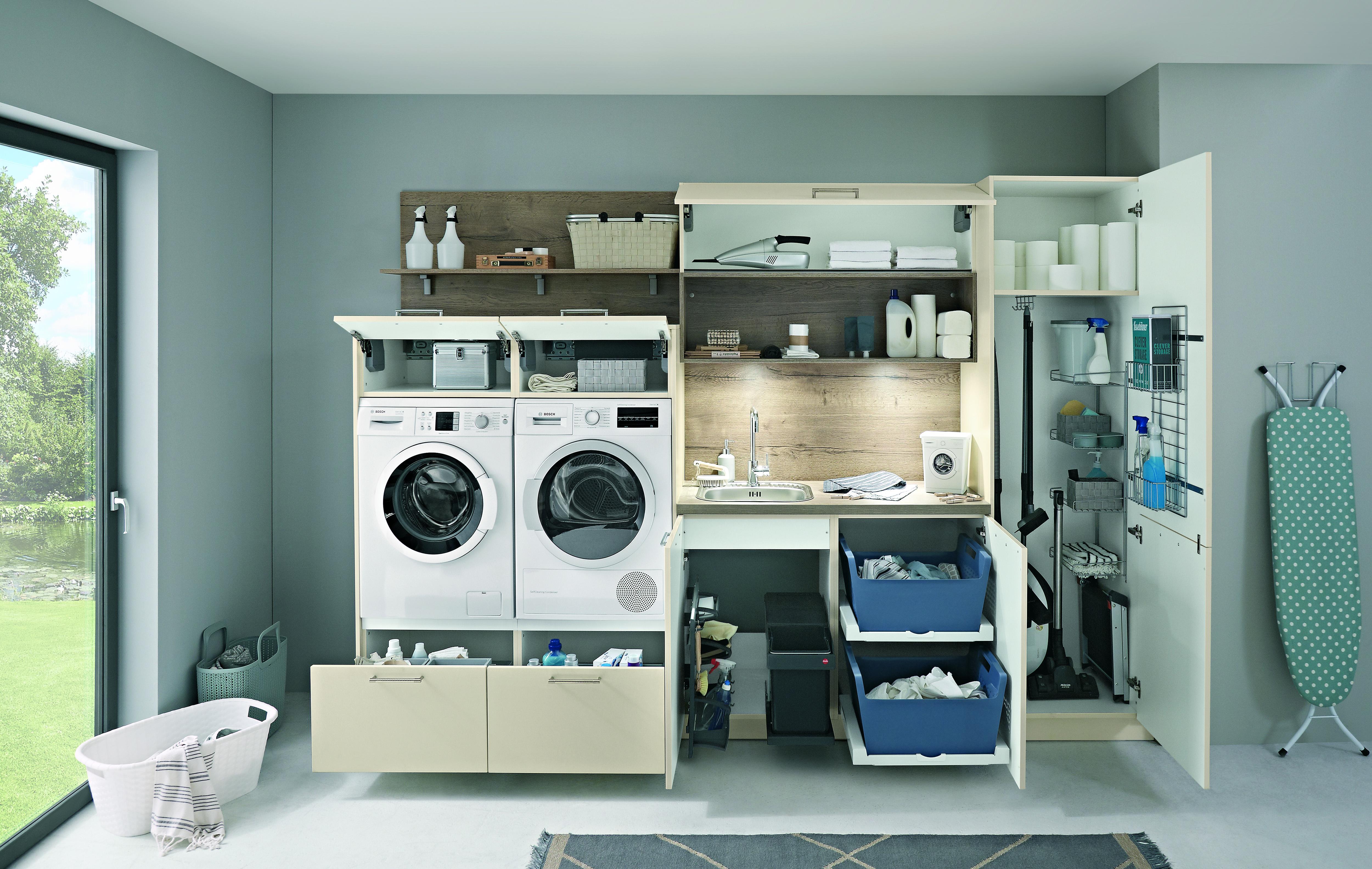 Einen Hauswirtschaftsraum planen und praktisch einrichten - Küche&Co