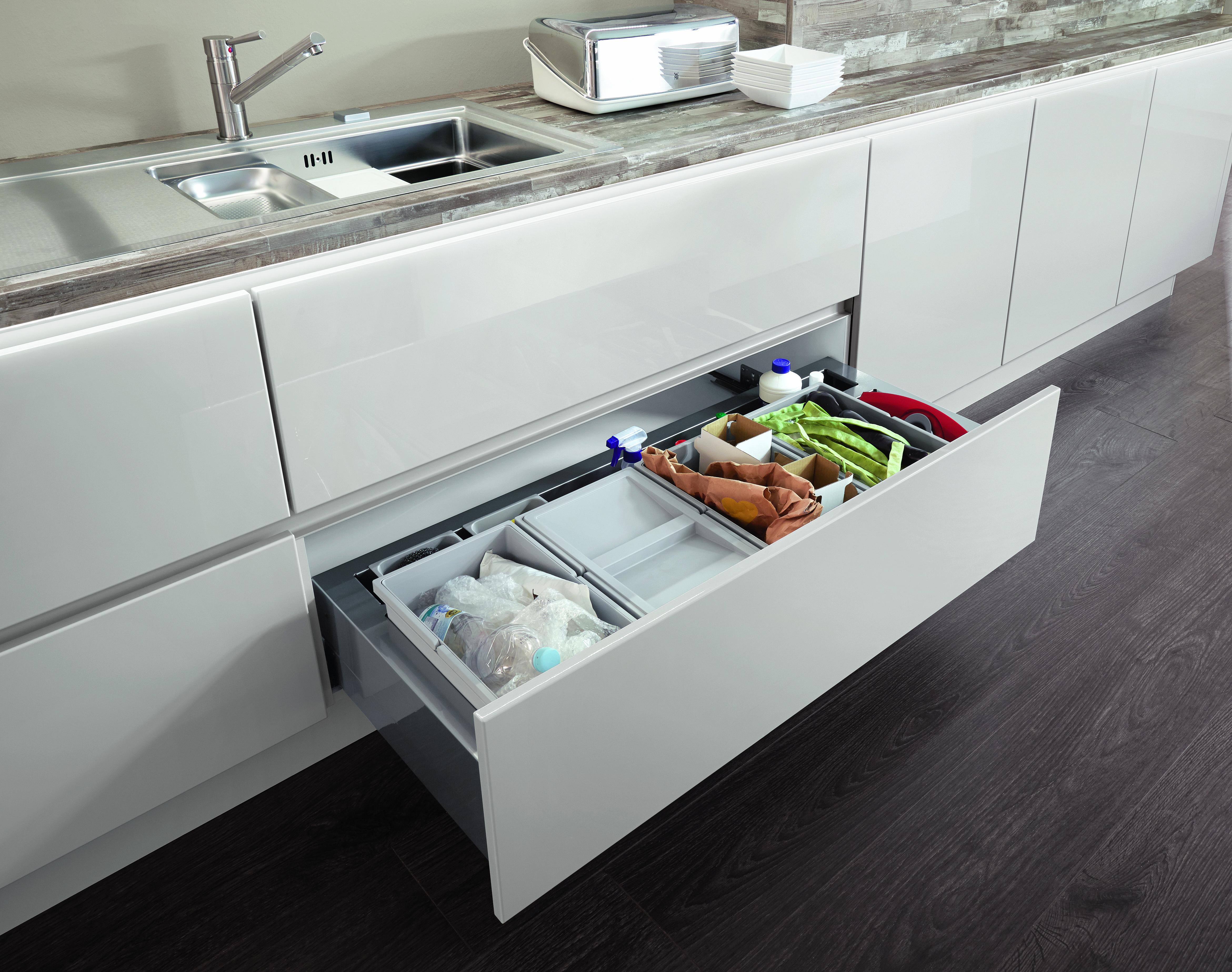 Stauraumwunder in der Küche - Küche&Co
