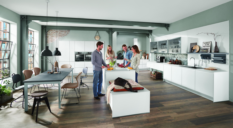 Moderne Wohnküchen zum Leben - Küche&Co