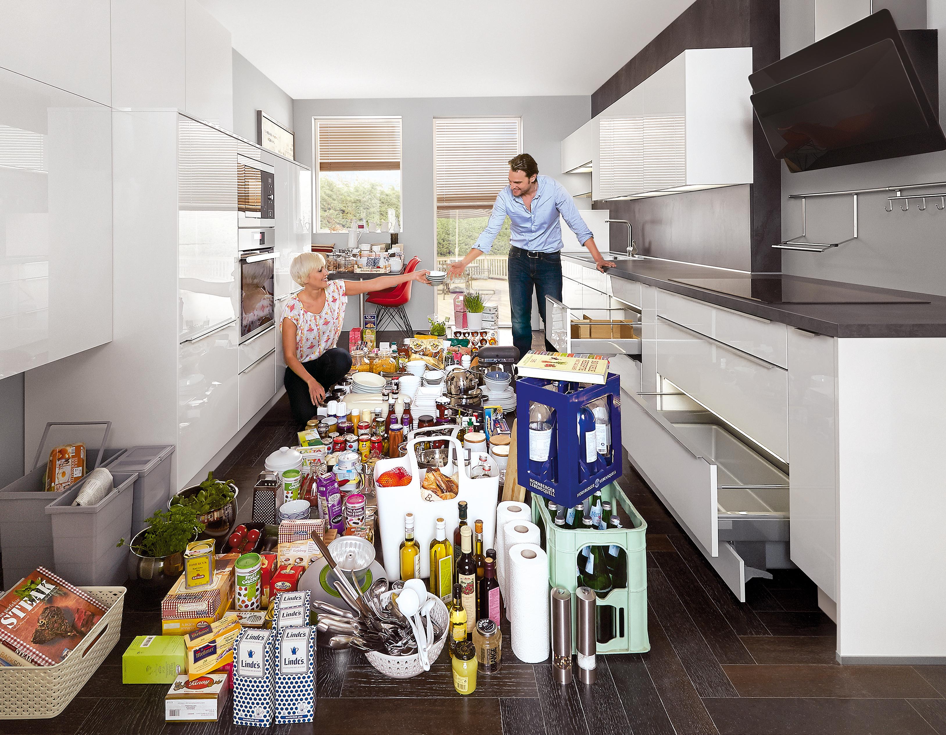 Vorratshaltung – So lagern Sie Lebensmittel in der Küche ...