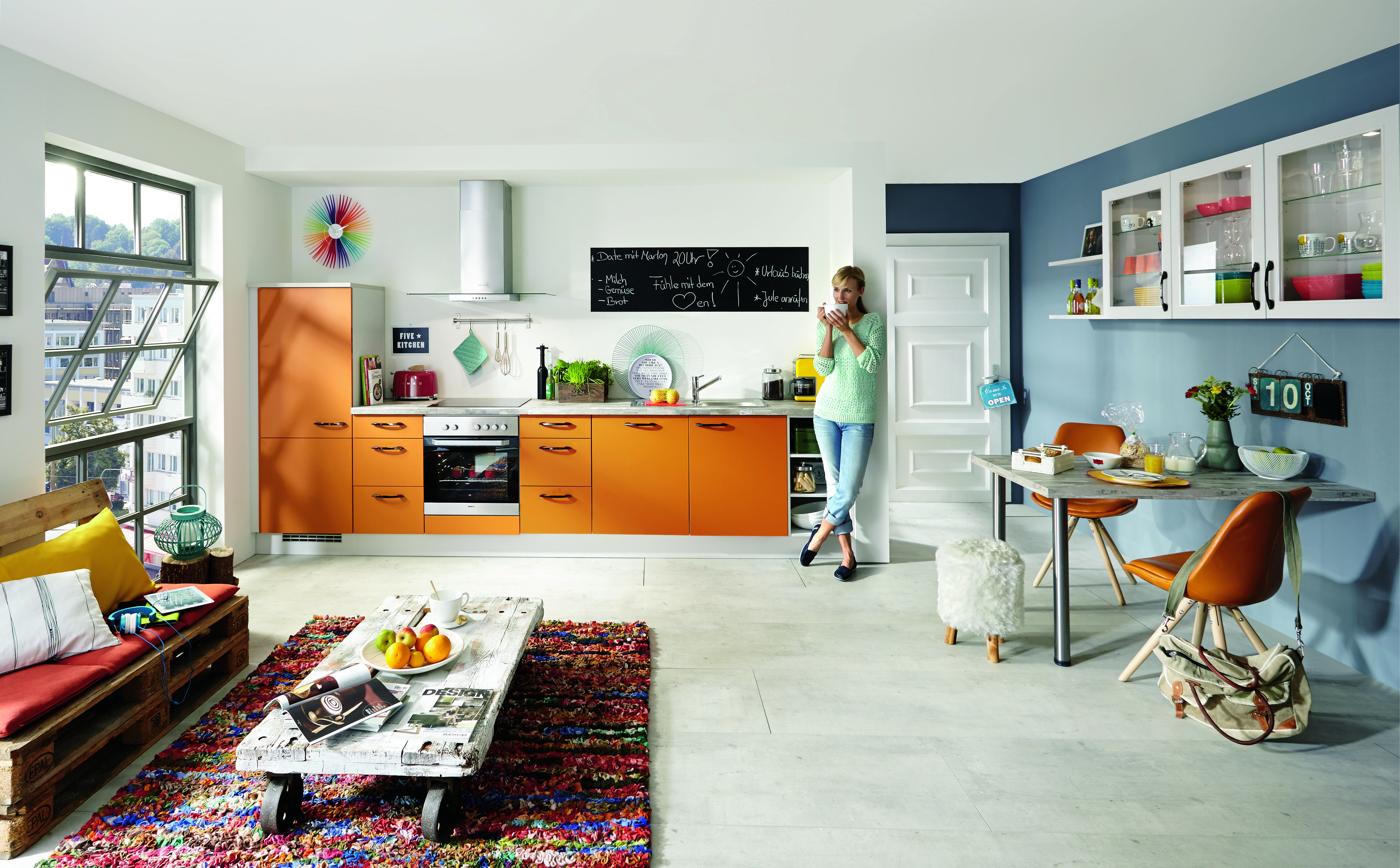 Kreative ideen für küchennotizen: memowände für die küche küche&co