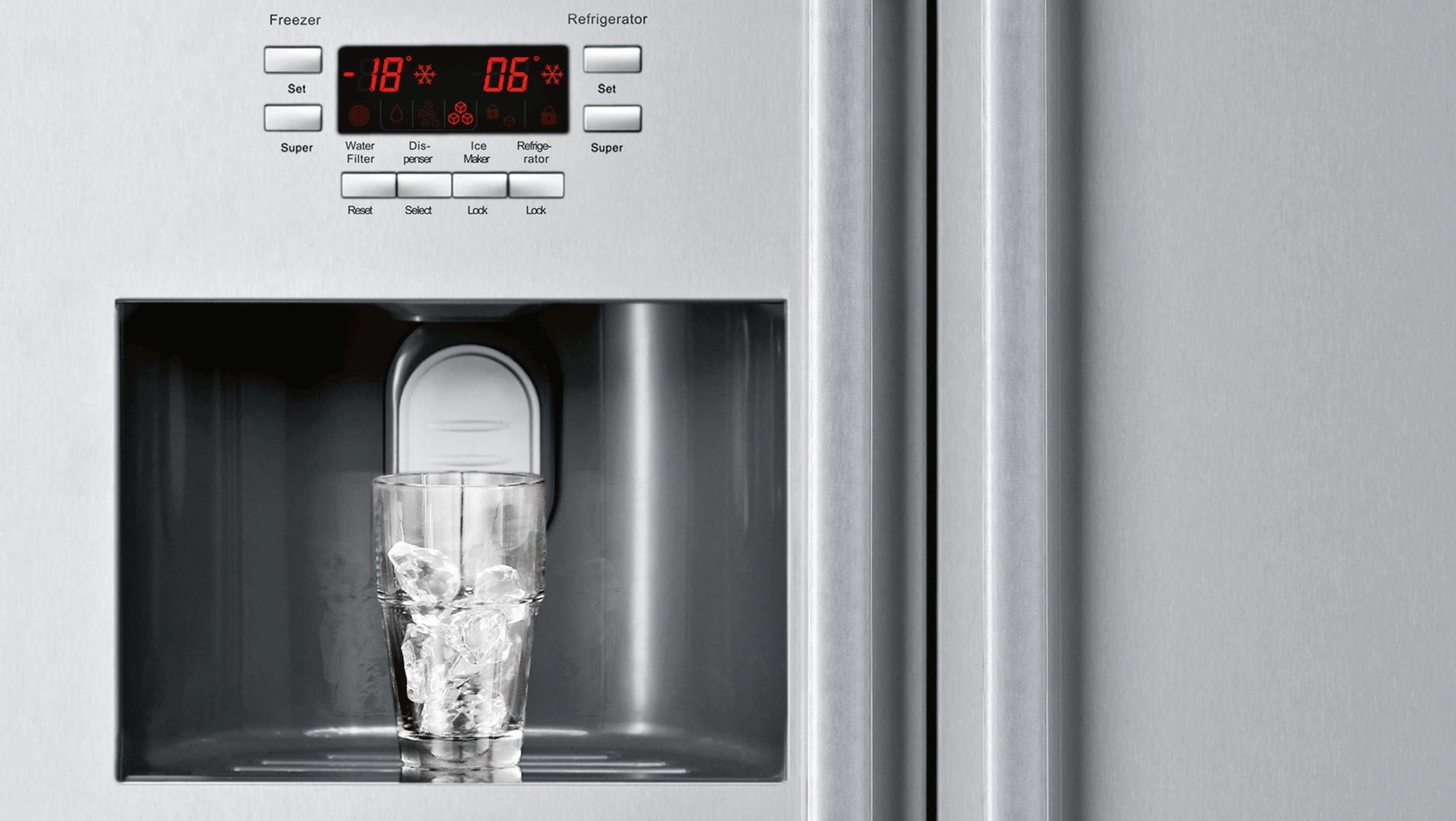 Neff Kühlschrank Side By Side : Side by side kühlschrank neff k3990x7 küche&co