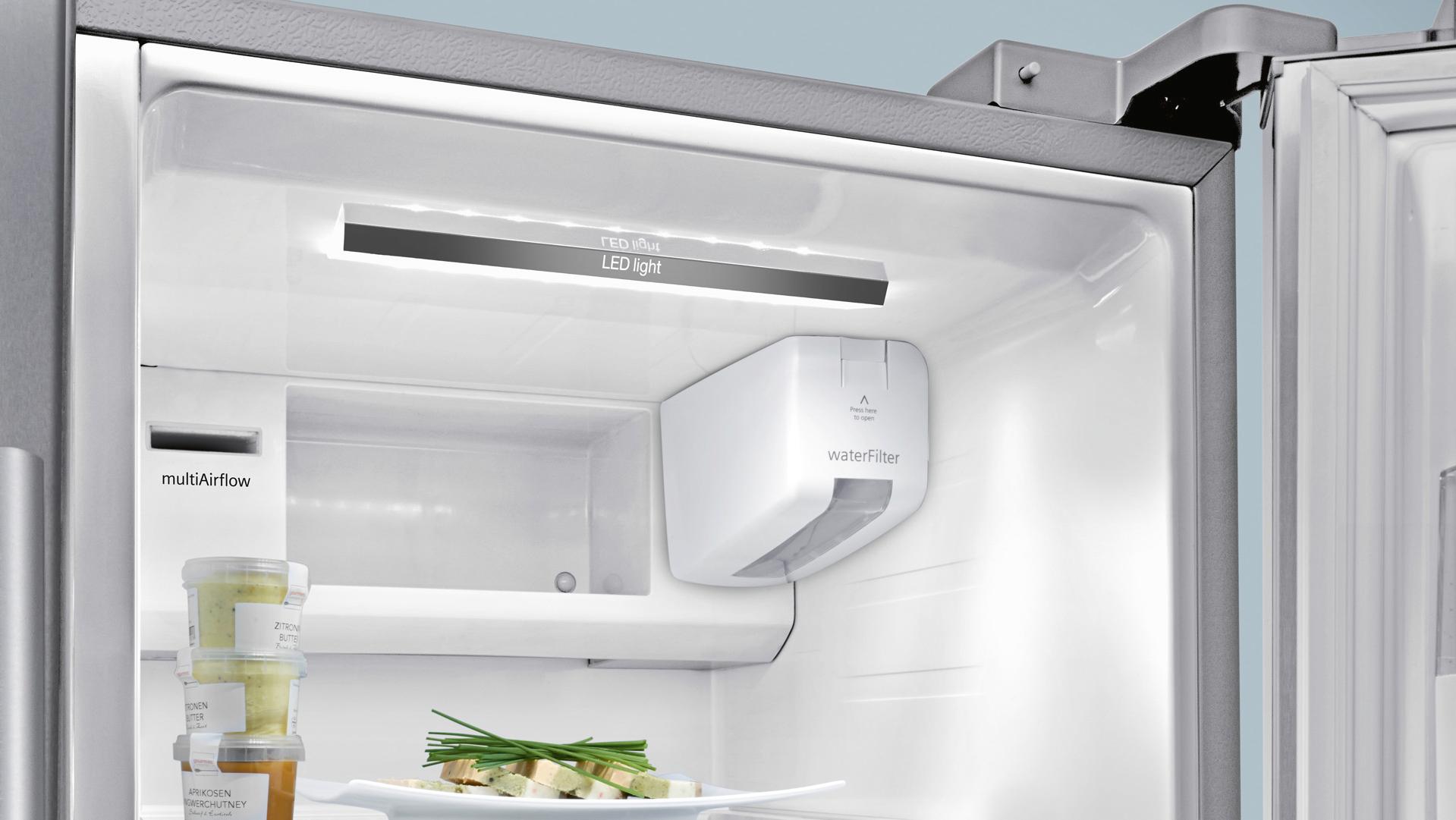 Siemens Kühlschrank Rollen : Side by side kühlschrank siemens electrogeräte gmbh ka90dvi20 küche&co
