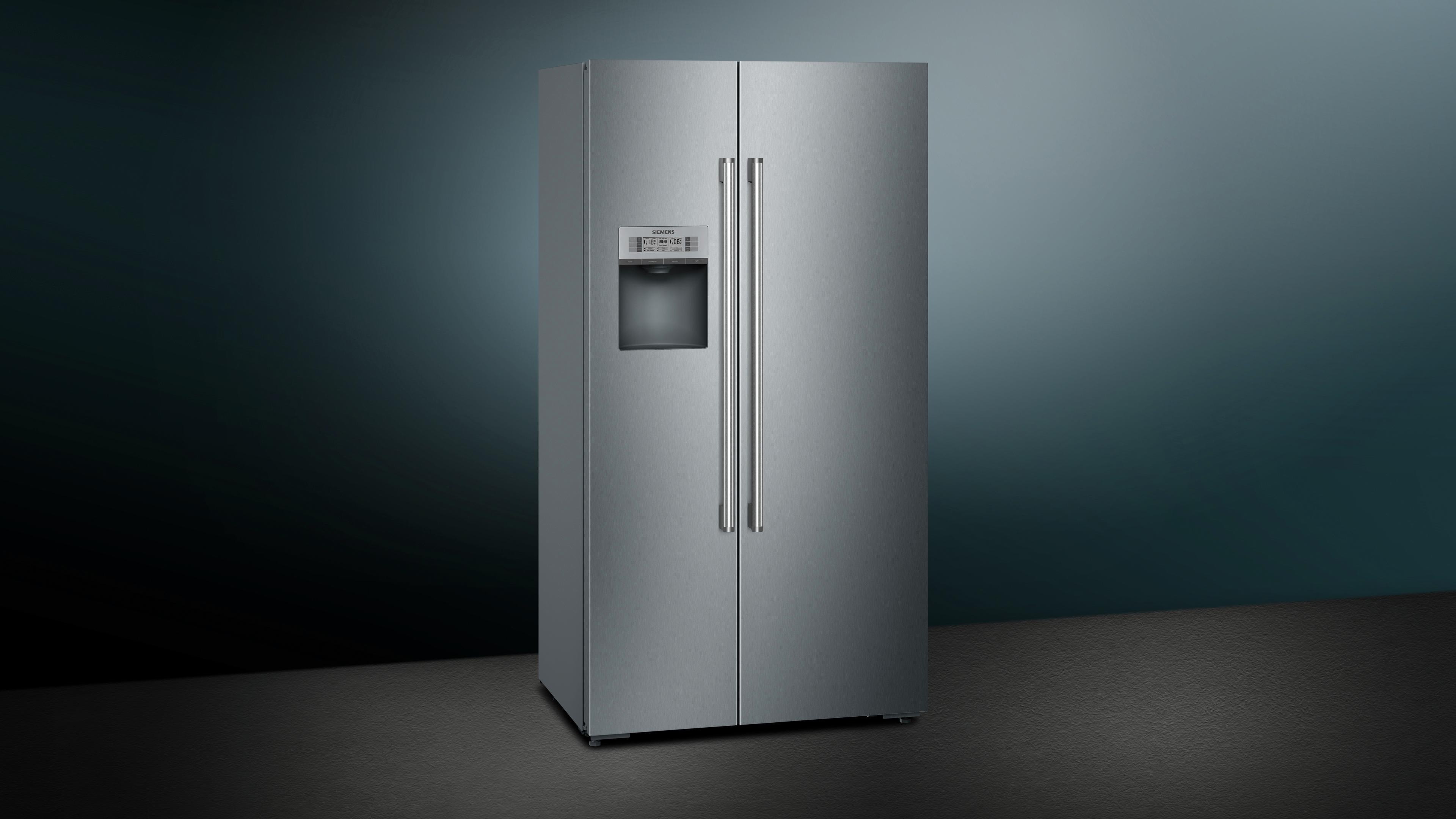 Amerikanischer Kühlschrank Tiefe 60 Cm : Side by side kühlschrank siemens electrogeräte gmbh ka dhi