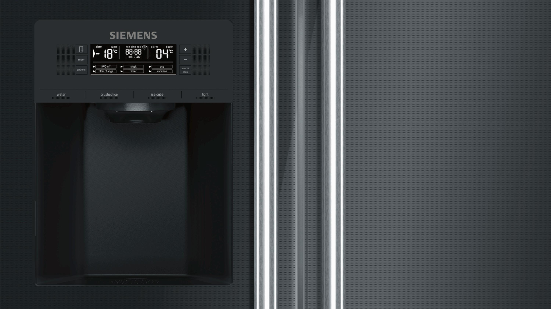 Siemens Kühlschrank Nach Transport Stehen Lassen : Side by side kühlschrank siemens electrogeräte gmbh ka dsb